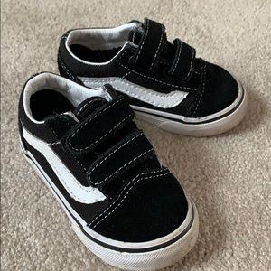 Baby Boy Size 5.5 Vans